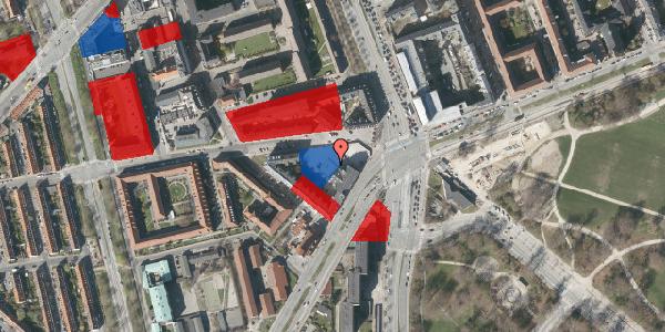 Jordforureningskort på Aldersrogade 3A, 1. th, 2100 København Ø