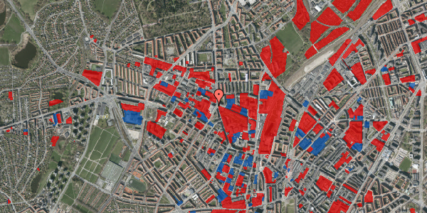 Jordforureningskort på Glasvej 31, 1. tv, 2400 København NV