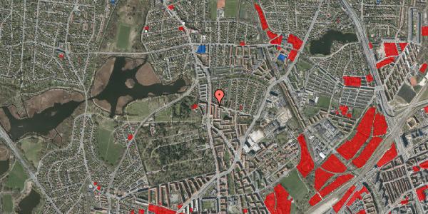 Jordforureningskort på Vilhelm Birkedals Vej 2, 1. tv, 2400 København NV