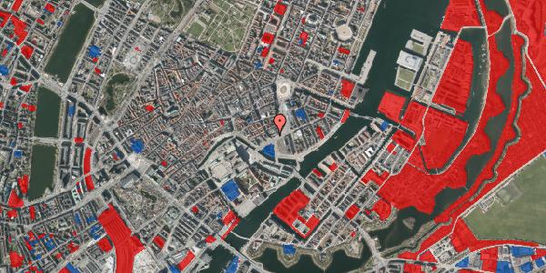 Jordforureningskort på Bremerholm 39, 1069 København K