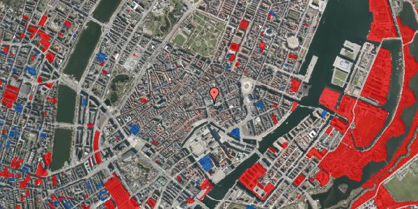 Jordforureningskort på Østergade 58, 1100 København K