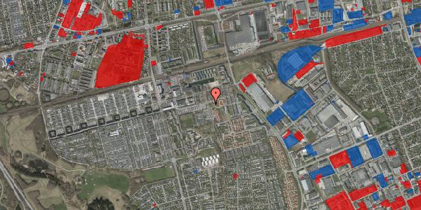 Jordforureningskort på Gymnasievej 13, 2625 Vallensbæk