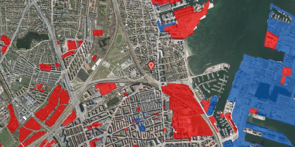 Jordforureningskort på Ryvangs Allé 4B, 2100 København Ø