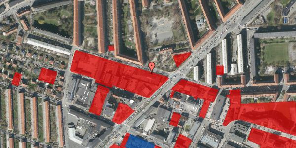 Jordforureningskort på Birkedommervej 41, 2400 København NV