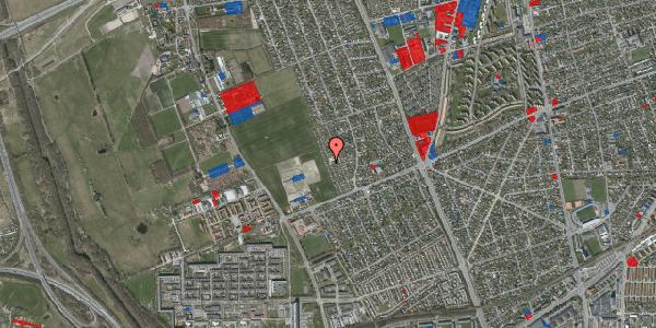 Jordforureningskort på Hf. Dahlia 84, 2650 Hvidovre