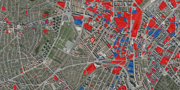 Jordforureningskort på Vestergårdsvej 14A, 2400 København NV