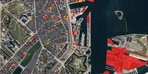 Jordforureningskort på Amerika Plads 7, 6. , 2100 København Ø