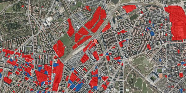 Jordforureningskort på Emblasgade 1, st. 8, 2100 København Ø