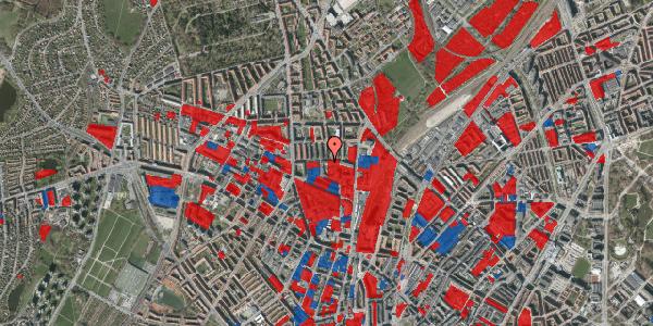 Jordforureningskort på Bisiddervej 22, 1. tv, 2400 København NV