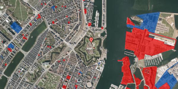 Jordforureningskort på Kastellet 72, 2100 København Ø
