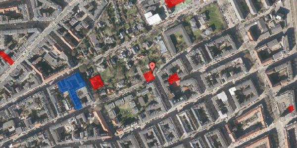 Jordforureningskort på Rosenvængets Allé 44B, 2100 København Ø