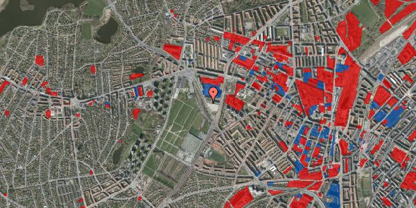 Jordforureningskort på Borups Allé 260, 2400 København NV