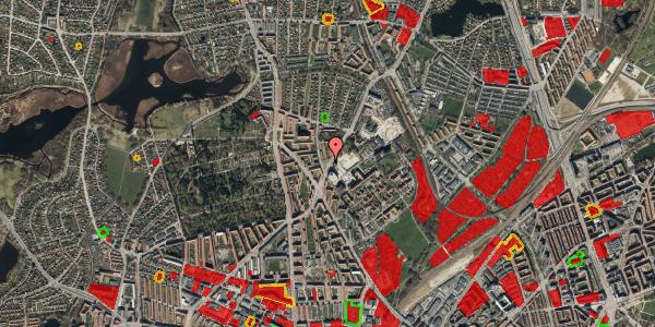 Jordforureningskort på Peter Rørdams Vej 2H, 2400 København NV