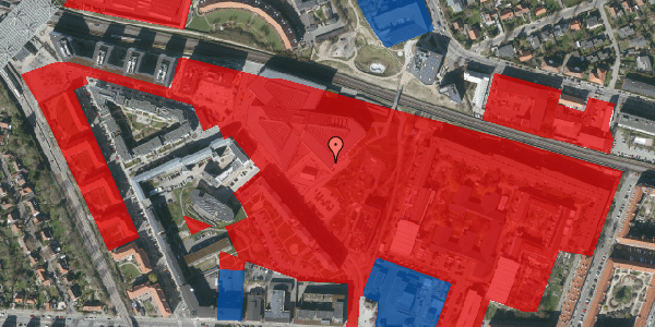 Jordforureningskort på Marguerite Vibys Plads 14, 2. , 2000 Frederiksberg