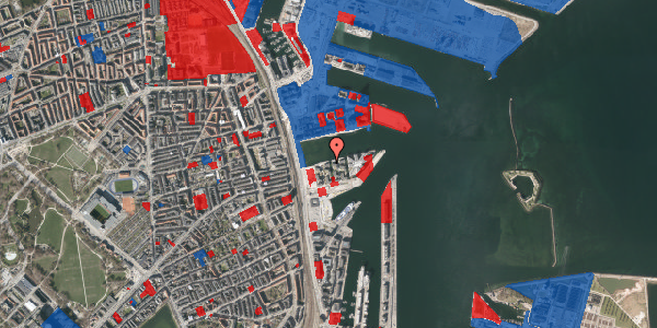 Jordforureningskort på Marmorvej 13B, 3. th, 2100 København Ø