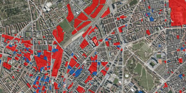 Jordforureningskort på Vermundsgade 38F, 3. tv, 2100 København Ø