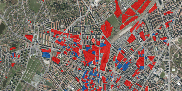 Jordforureningskort på Bisiddervej 20, 1. th, 2400 København NV