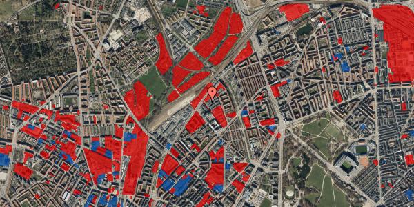 Jordforureningskort på Emblasgade 3, st. , 2100 København Ø