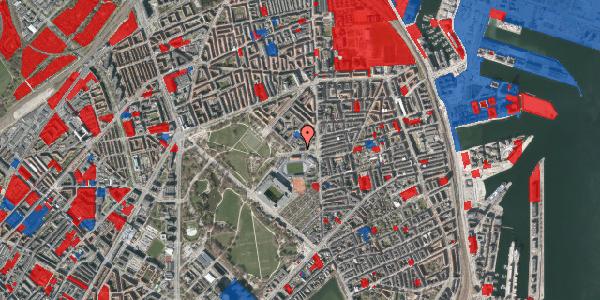 Jordforureningskort på Østerfælled Torv 7, 2100 København Ø