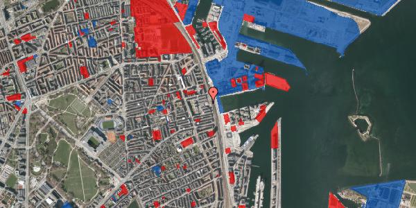 Jordforureningskort på Østbanegade 121, 2100 København Ø