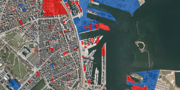 Jordforureningskort på Marmorvej 21A, 2100 København Ø