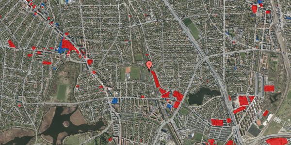 Jordforureningskort på Rødhalsgangen 21, 2400 København NV