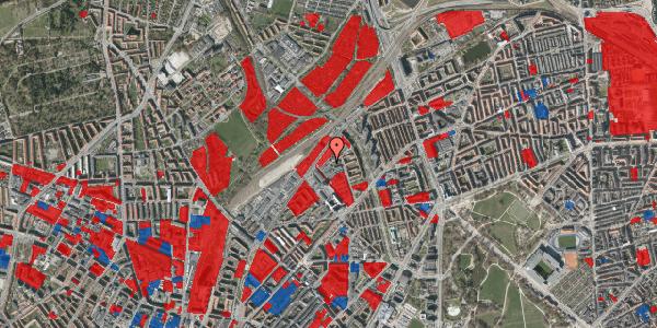 Jordforureningskort på Emblasgade 23, 1. th, 2100 København Ø