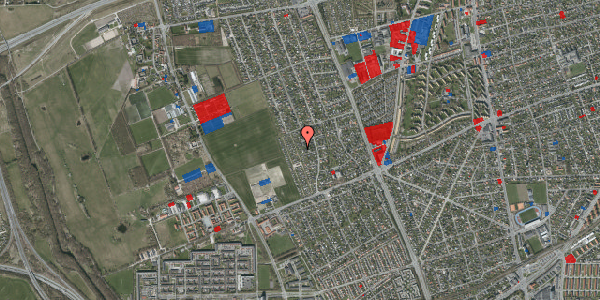 Jordforureningskort på Hf. Dahlia 38, 2650 Hvidovre