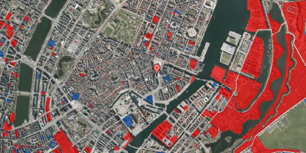 Jordforureningskort på Kongens Nytorv 13, 3. , 1050 København K