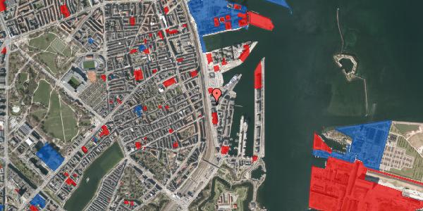 Jordforureningskort på Kalkbrænderihavnsgade 4B, 3. th, 2100 København Ø