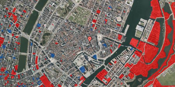 Jordforureningskort på Østergade 44, 3. , 1100 København K