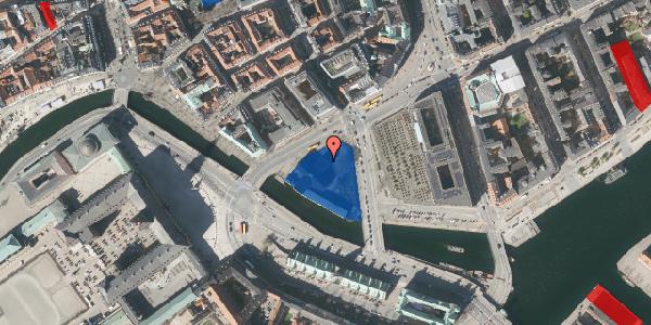 Jordforureningskort på Holmens Kanal 21, 1060 København K