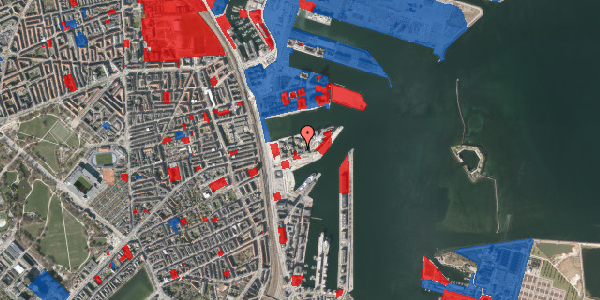 Jordforureningskort på Marmorvej 23, 5. th, 2100 København Ø