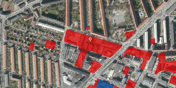 Jordforureningskort på Dortheavej 36F, 2400 København NV