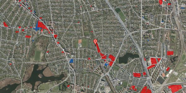 Jordforureningskort på Rødhalsgangen 29, 2400 København NV