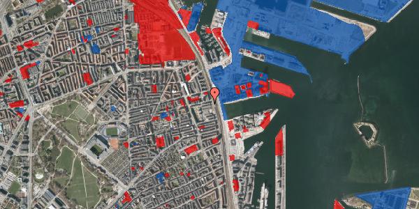 Jordforureningskort på Østbanegade 131, 2100 København Ø