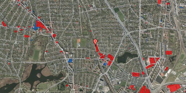 Jordforureningskort på Rødhalsgangen 6, 2400 København NV