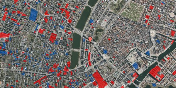 Jordforureningskort på Dahlerupsgade 1, kl. 1, 1603 København V
