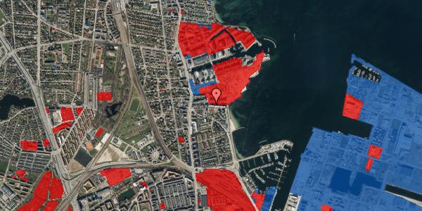 Jordforureningskort på Scherfigsvej 11, 2100 København Ø