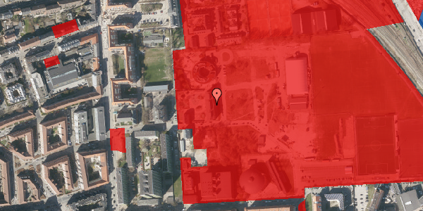 Jordforureningskort på Sionsgade 7, 1. , 2100 København Ø