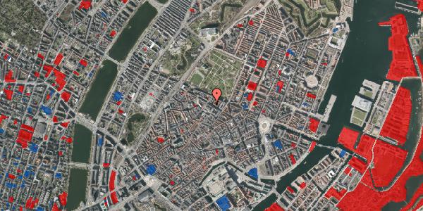 Jordforureningskort på Vognmagergade 9, 4. th, 1120 København K