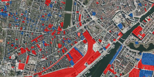 Jordforureningskort på Istedgade 16, 1650 København V