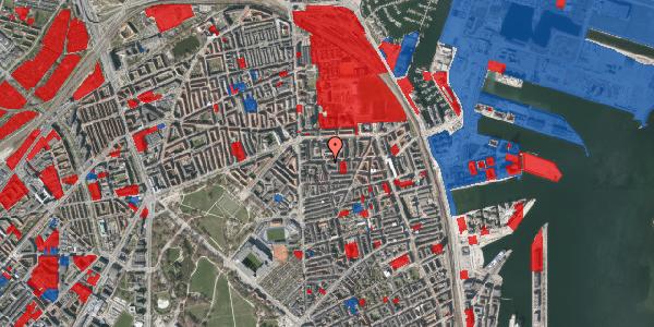 Jordforureningskort på Vordingborggade 18, 2100 København Ø