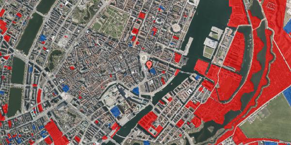 Jordforureningskort på Holmens Kanal 3, 1060 København K