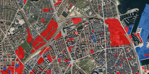 Jordforureningskort på Venøgade 24, 4. th, 2100 København Ø