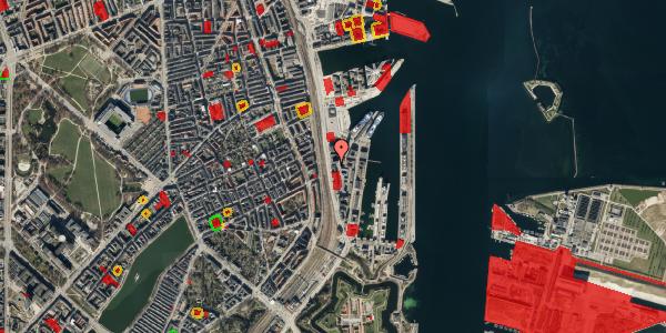 Jordforureningskort på Amerika Plads 19, 3. , 2100 København Ø