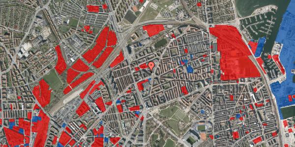 Jordforureningskort på Æbeløgade 3, 6. , 2100 København Ø