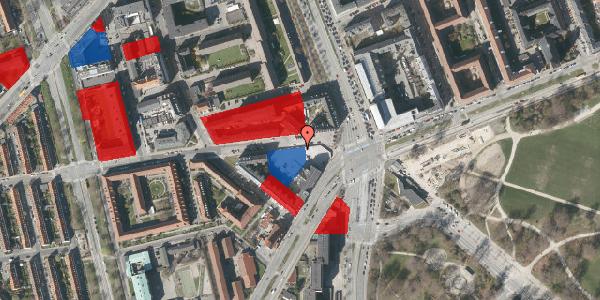 Jordforureningskort på Aldersrogade 3, 2100 København Ø