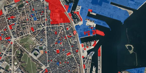 Jordforureningskort på Hjørringgade 37, 12. tv, 2100 København Ø