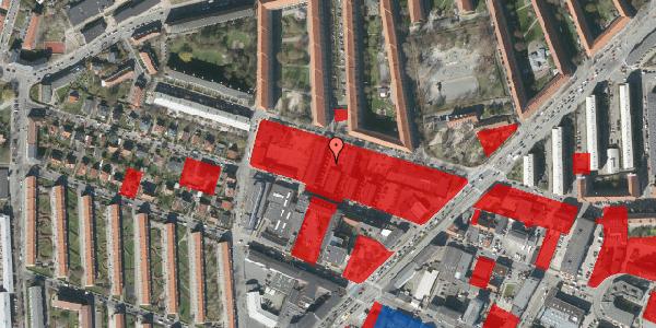 Jordforureningskort på Dortheavej 40, 2400 København NV